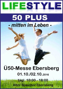 Lifestyle 50 Plus Messe in Ebersberg